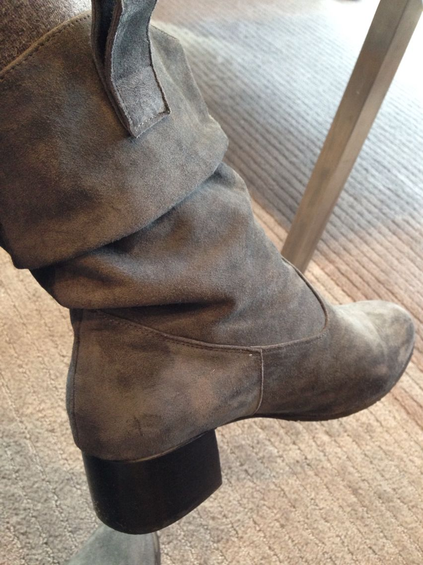 Custom boots from a shoe maker in Hong Kong, they work for dress, jeans, leggings. And so comfortable!