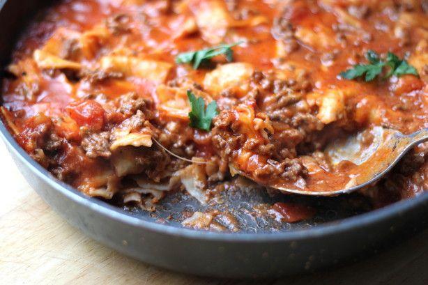 Cheesy Beef Taco Skillet