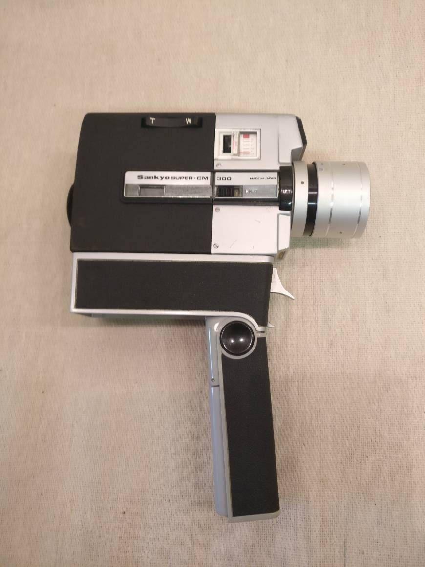 Vintage Sankyo Super Cm 300 Super 8 Movie Camera With Original Case Zoom By Fionastreasurechest On Etsy Vintage Cameras Movie Camera Cameras And Accessories
