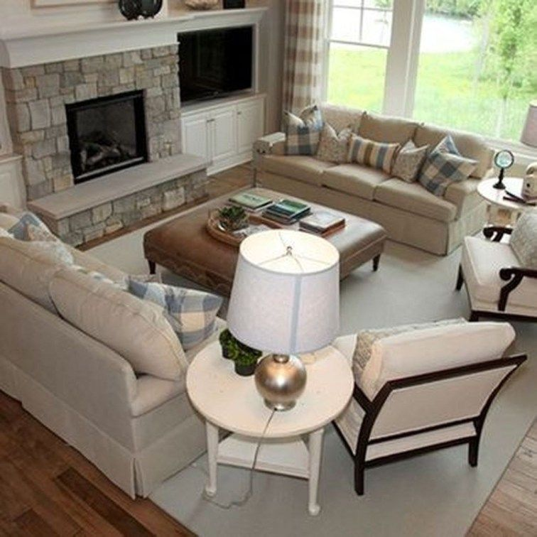 49 cool design layout ideas for family room livingroom on family picture wall ideas for living room furniture arrangements id=85353