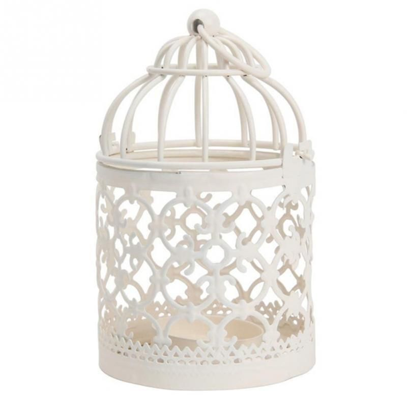 Metallic Iron Antique Decorative Wedding Birdcage Decoration Bird Cage Home