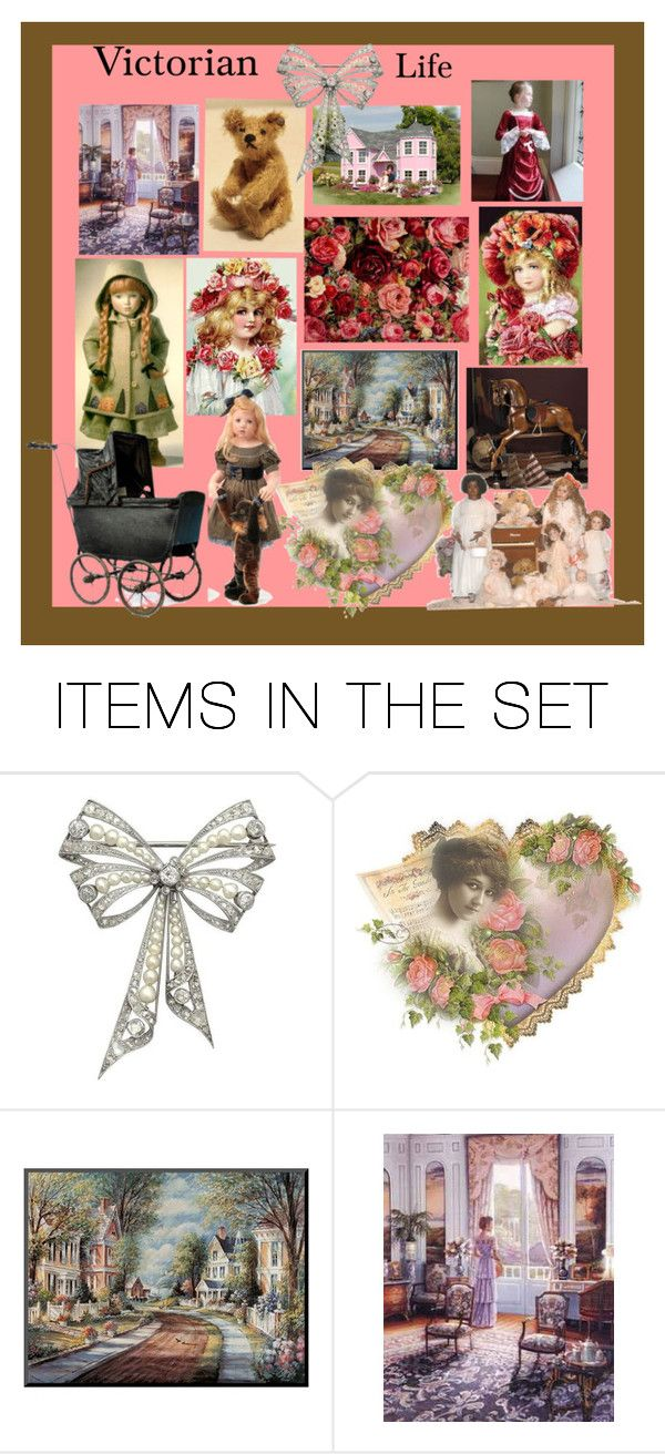 """Victorian Life"" by glitterlady4 ❤ liked on Polyvore featuring art"
