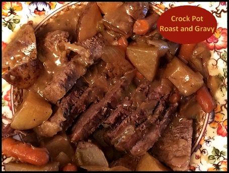 Crock Pot Roast and Gravy http://www.momspantrykitchen.com/crock-pot-roast-and-gravy.html