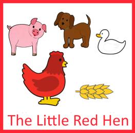 The Little Red Hen Little Red Hen Literacy Books Kindergarden