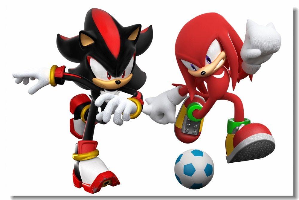 Sonic The Hedgehog Wall Sticker No 3 Wall Stickers Sonic The Hedgehog Hedgehog