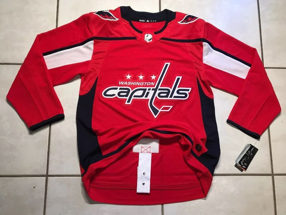 huge discount 28d9e ca6b1 NWT ADIDAS Washington Capitals NHL Authentic Jersey Men's ...