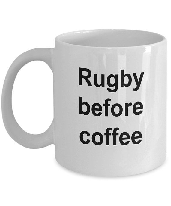 Rugby Lover Gift Gifts For Him Men Teenager World Cup Decor Fan Player Mug By 22ndofoctober Gift For Lover Mugs Gifts For Him
