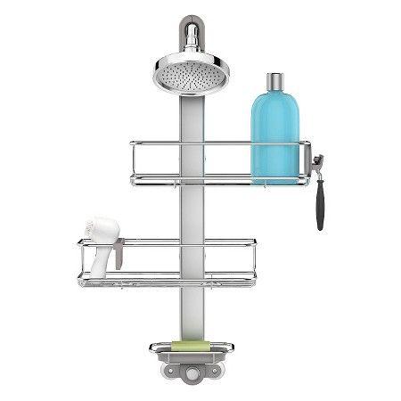 Best Adjustable Shower Caddy Simplehuman Studio Target 400 x 300