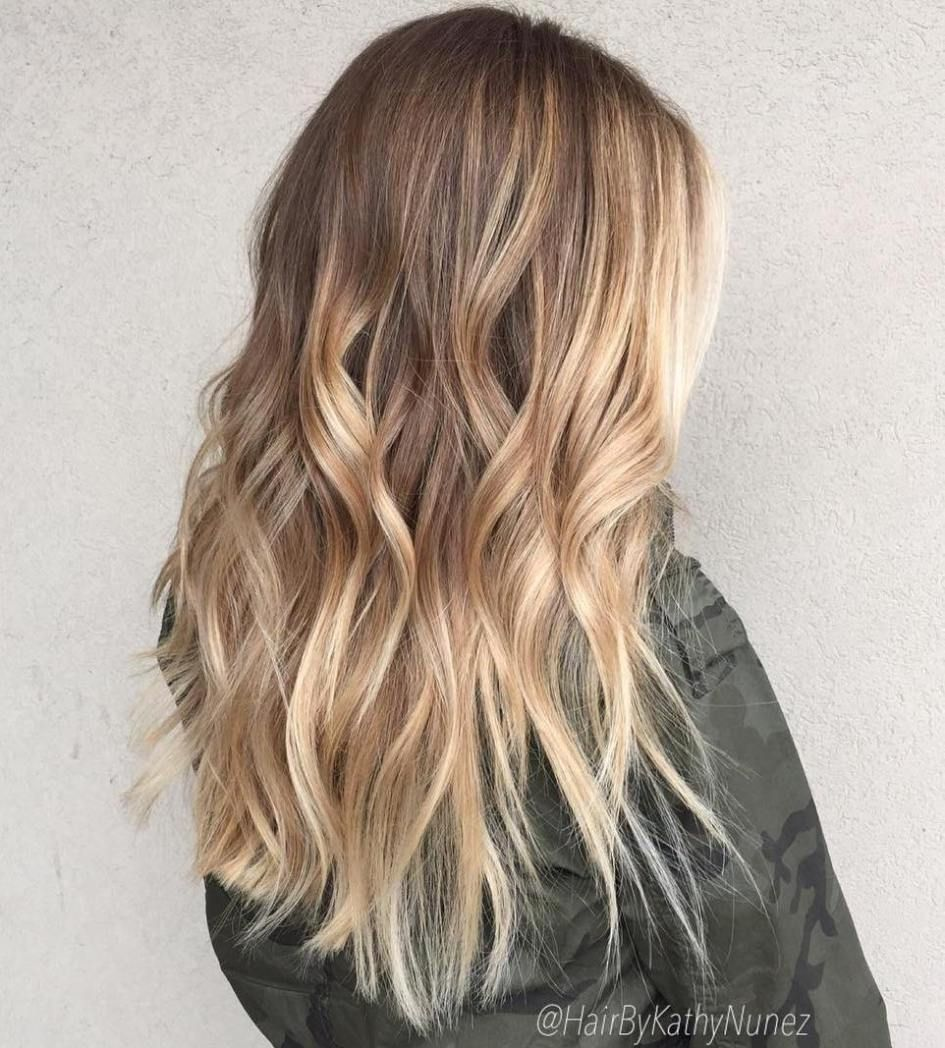 beautiful blonde balayage looks caramel hair blondes and