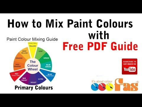 Free Pdf Download Learn How To Mix Paint Colours In The Classroom