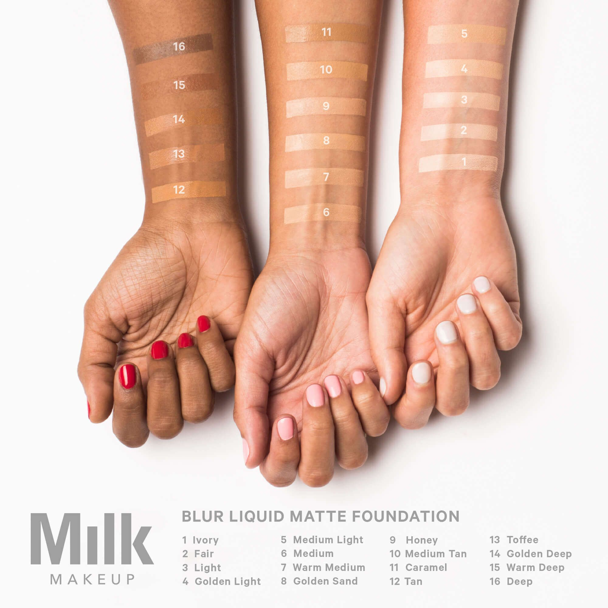 Blur Liquid Matte Foundation Milk makeup foundation