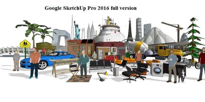 patch para sketchup pro 2016