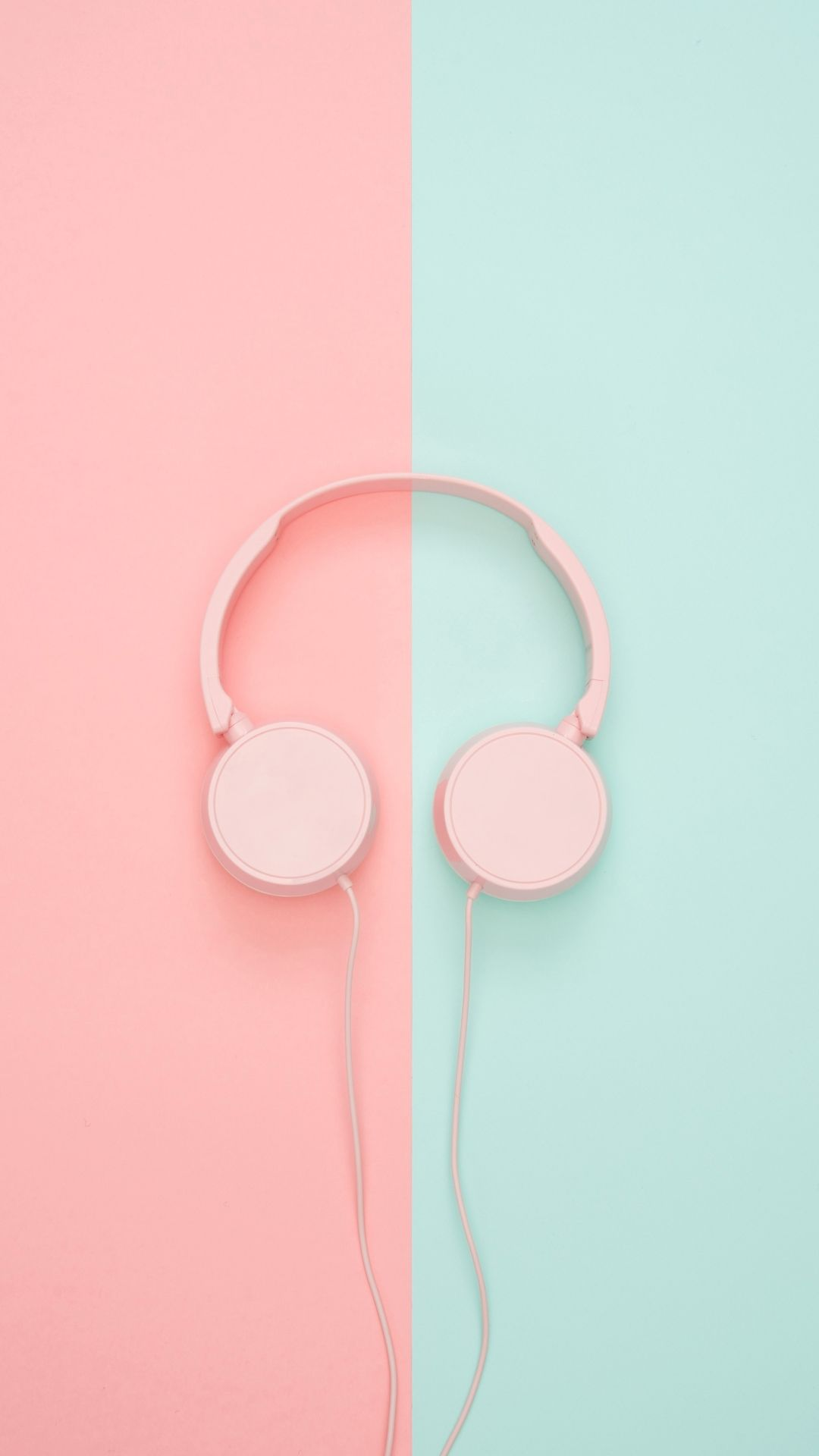 Aesthetic Teal And Pink Wallpaper Hd In 2020 Pink Wallpaper Aesthetic Pastel Wallpaper Music Wallpaper
