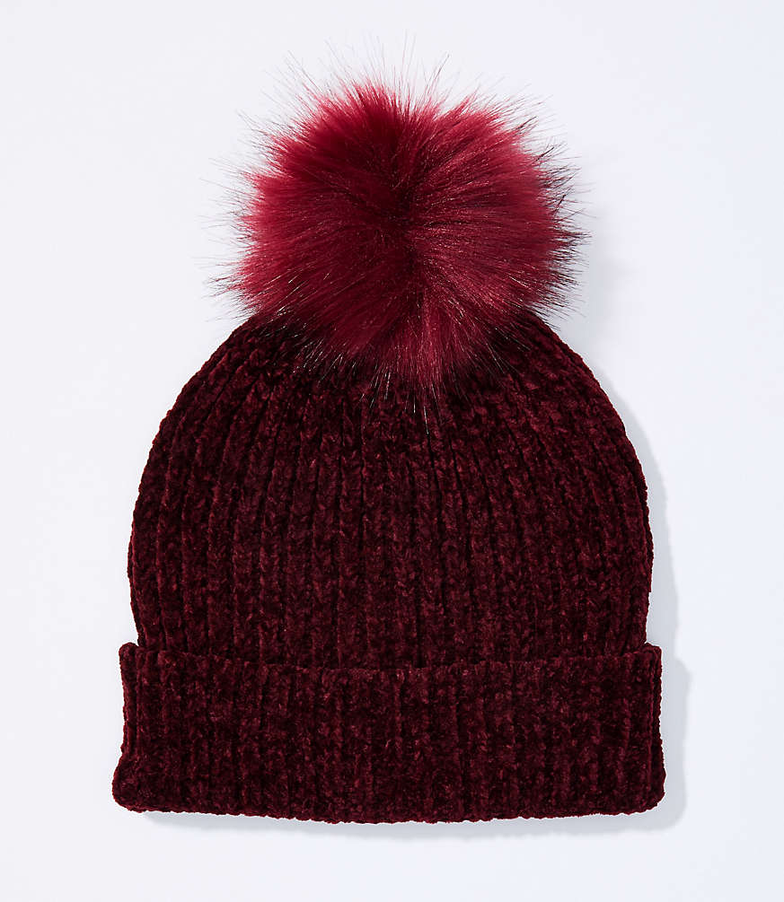 Shop LOFT for stylish women's clothing. You'll love our irresistible Chenille Pom Pom Hat - shop LOFT.com today! #loftclothes