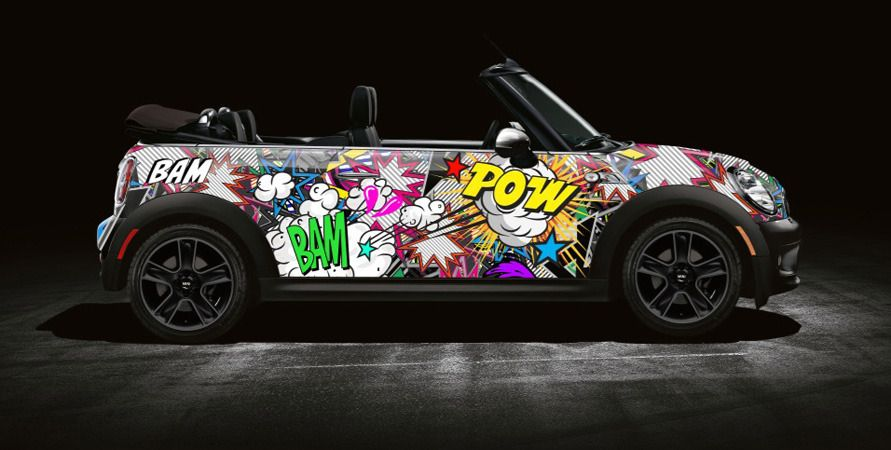Cool Comic Book inspired Mini | Car Branding | Pinterest ...
