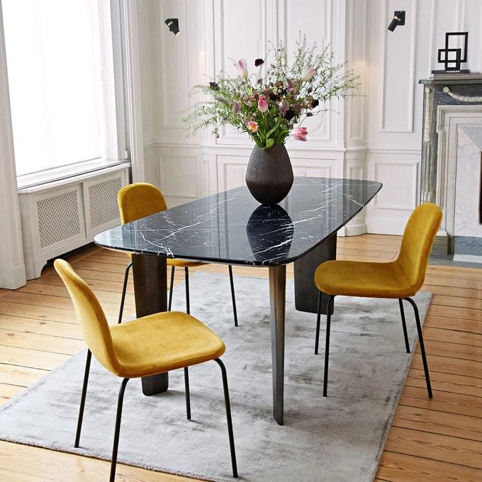 Table à Manger En Marbre Dolmena En 2019 Décoration Maison