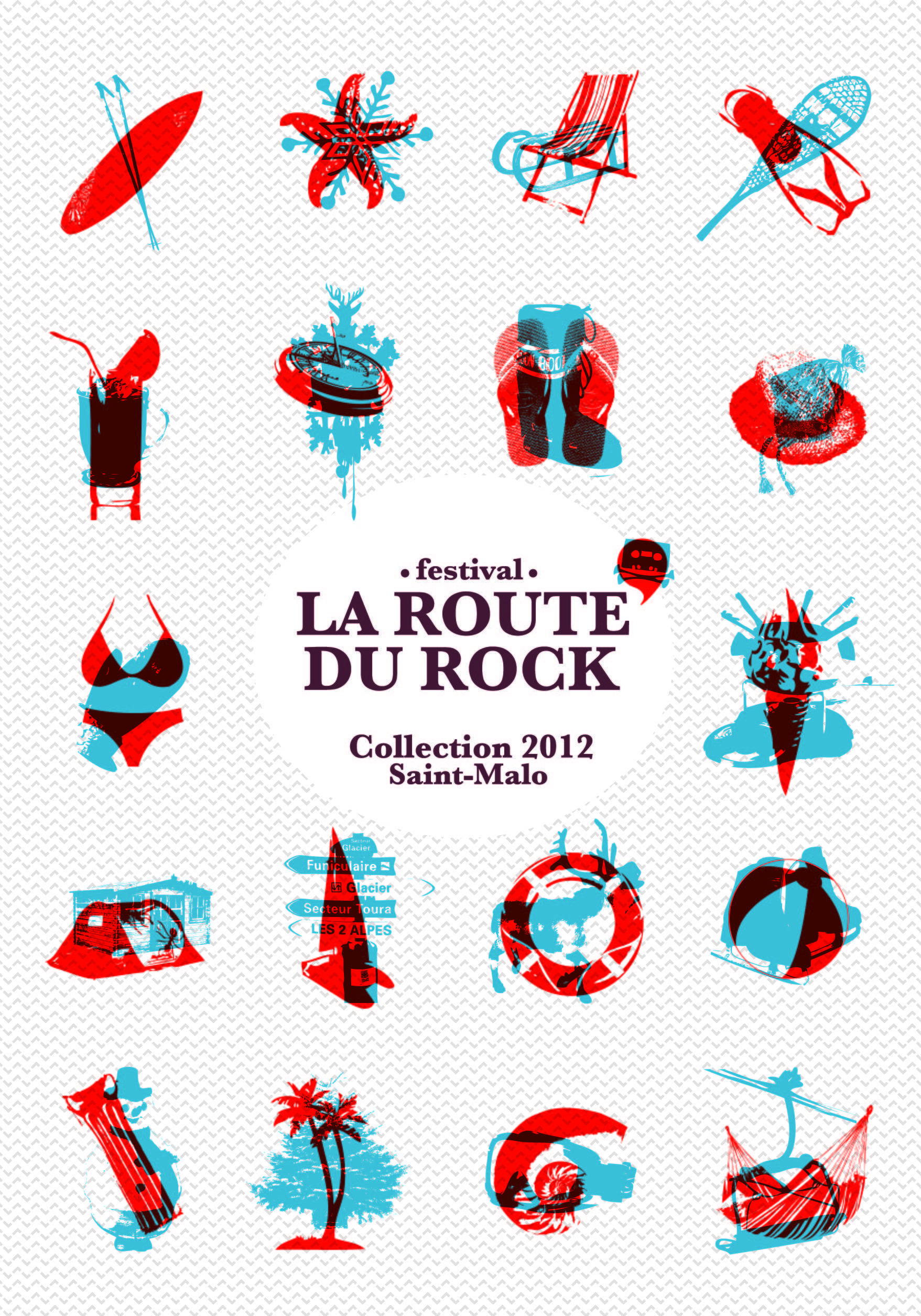 Margot Abellard  Graphic designerVisual identities La Route du Rock You are in the right place about Graphic Design cover Here we offer you the most beautiful pictures ab...