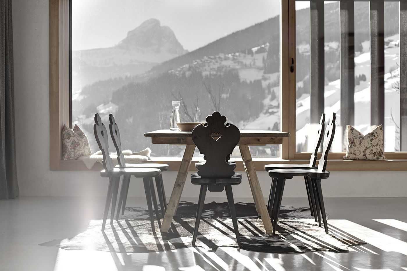 Wonderful Marebbe Enneberg, Italy 1 Of 12 This Architect Owned Mountain Abode Is  Where Minimalism Meets Chalet Style.