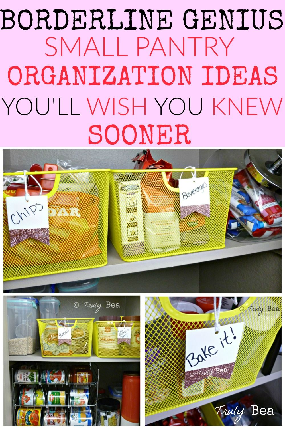 The Ultimate DIY Small Pantry Organization Ideas To Make Your - 20 genius life hacks for anyone on a tight budget
