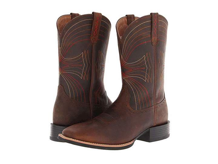 97580ab5b88 Ariat Sport Wide Square Toe | Products | Pinterest | Brown cowboy ...