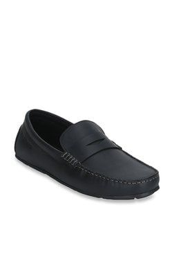 red tape black casual loafers in 2020  casual loafers