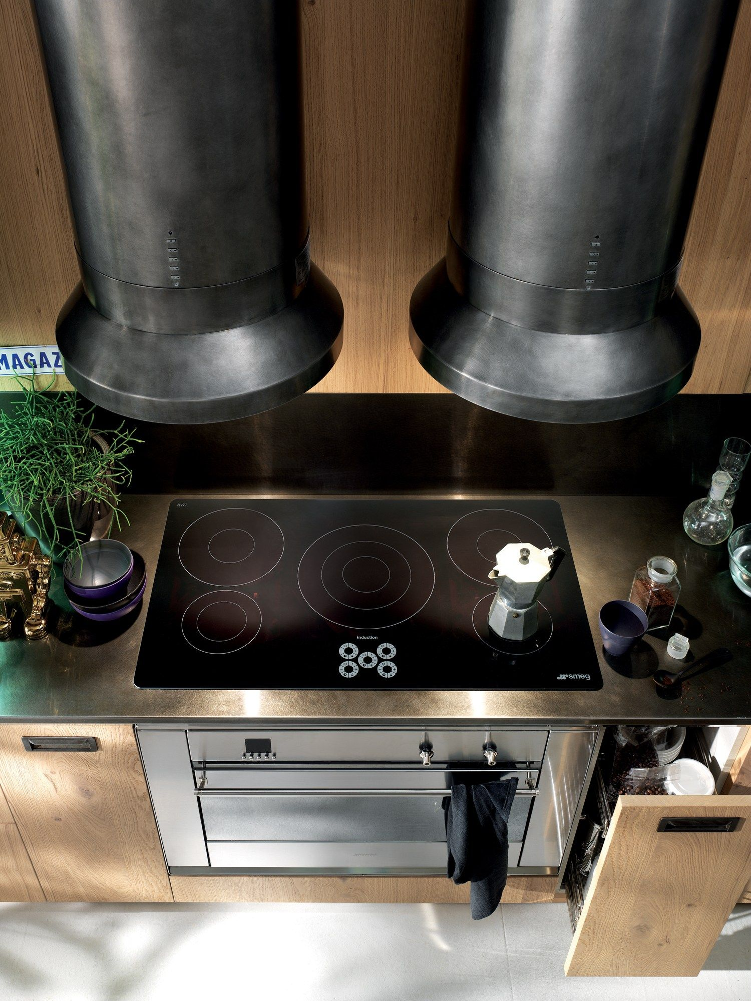 Cucina componibile DIESEL SOCIAL KITCHEN Linea Scavolini by ...