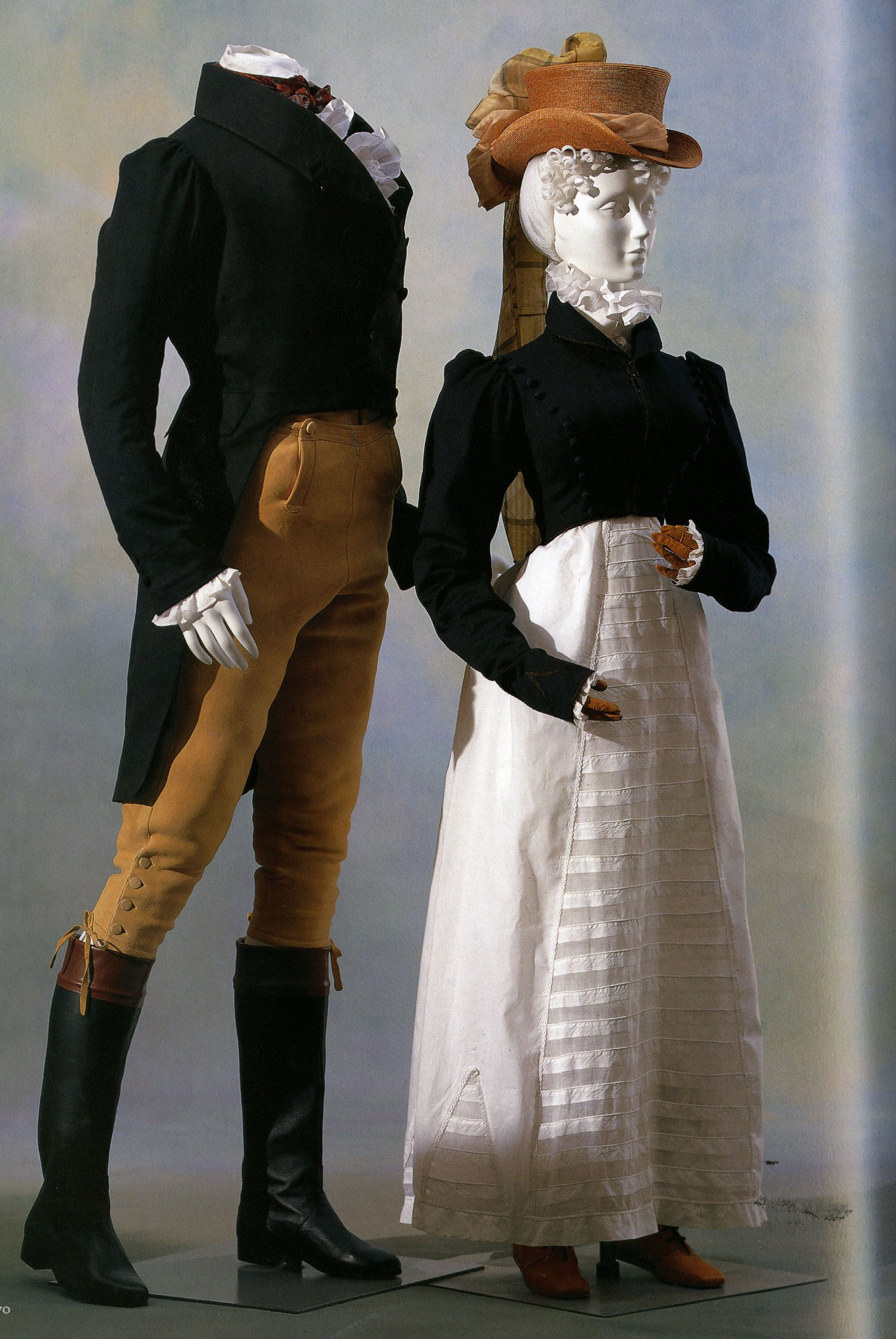 7 Empire 1815 The Woman Is Wearing A Spencer Or