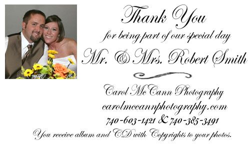 Collection Wedding Thank You Cards Examples Pictures Weddings Center – Wedding Thank You Cards Examples