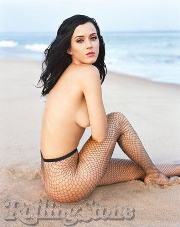 rolling stone Katy perry topless