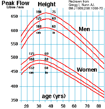 Learn The Basic Step In Taking Peak Expiratory Flow Rate