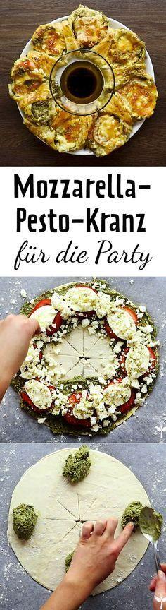 Vegetarisches Partyrezept, das allen schmeckt!