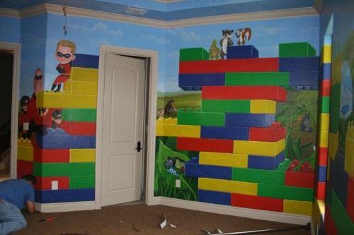 Nice Love The Lego Room Idea!