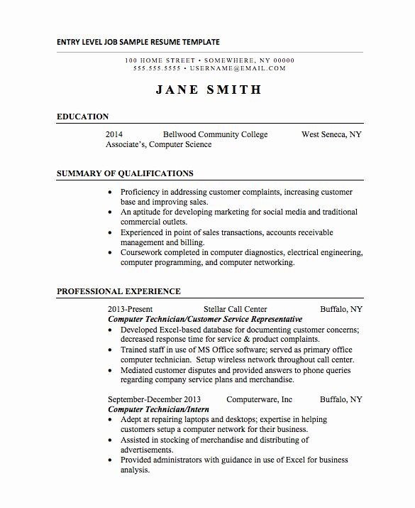 Entry Level Lpn Resume Luxury 21 Basic Resumes Examples for Students | Basic resume examples ...