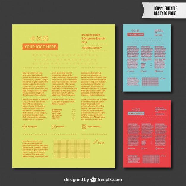 brand guideline template에 대한 이미지 검색결과