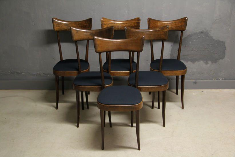 Italienische Esszimmer Stühle Ico Parisi Ära Italienische - esszimmer 1930