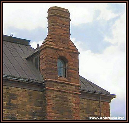 Window Chimney Pictou Nova Scotia East Coast Vacation Pictou