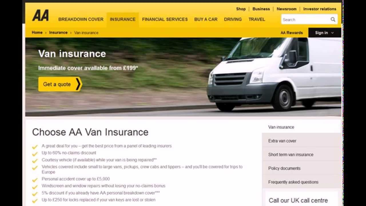 Aa Van Insurance Contact Number Aa Van Insurance