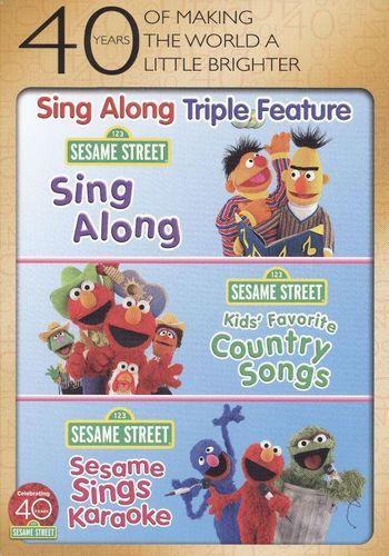 Sesame Street Sing Along Kids Favorite Country Songs