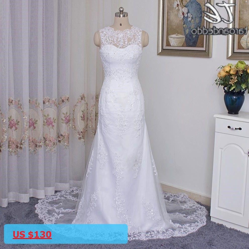Sheer high neck sleeveless applique lace hand beading sheath white