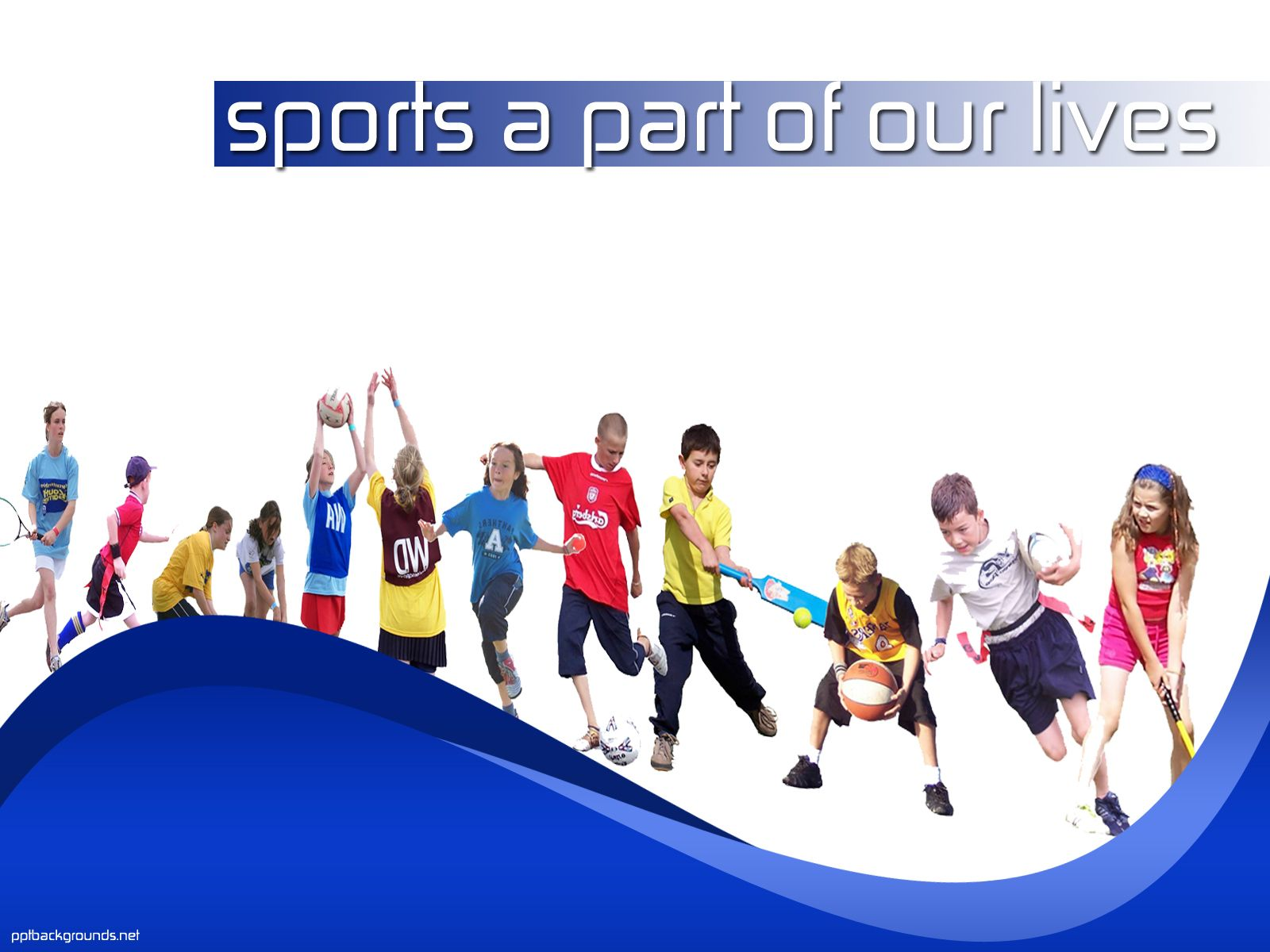 Sports powerpoint templates free download education for Youth sports photography templates