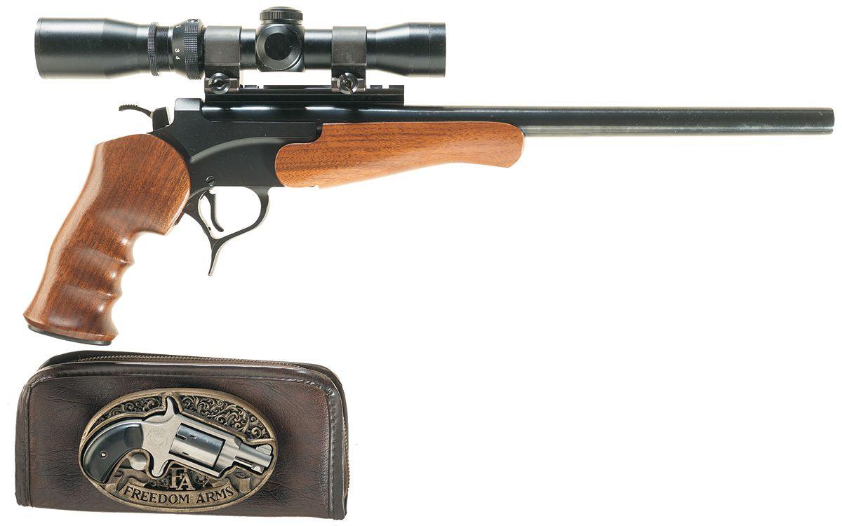 Two Hand Guns -A) Thompson Center Arms Encore Single Shot
