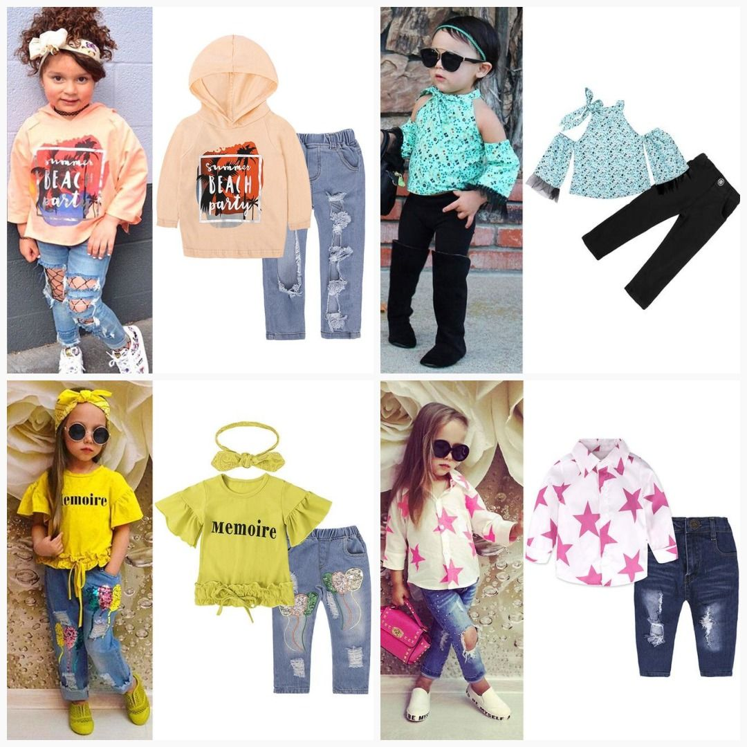 53d9a1be3 LZH Children Clothes 2018 Autumn Winter Girls Clothes T-shirt+Pants ...