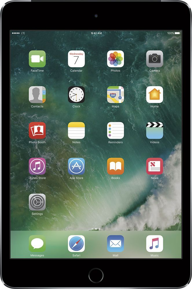 Apple Ipad Mini 4 Wi Fi Cellular 128gb Verizon Wireless Space Gray Apple Ipad Ipad Mini Ipad Pro