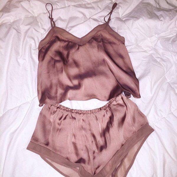 5c014347ac pinterest   divinika Silk Pajama Shorts