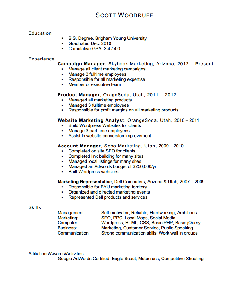 fill blank resume template microsoft word - How To Word A Resume
