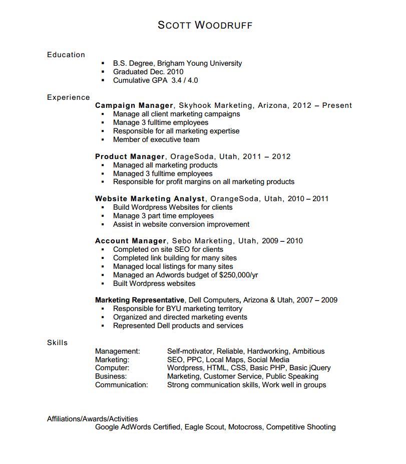Resume Filling Jobs Gujarat
