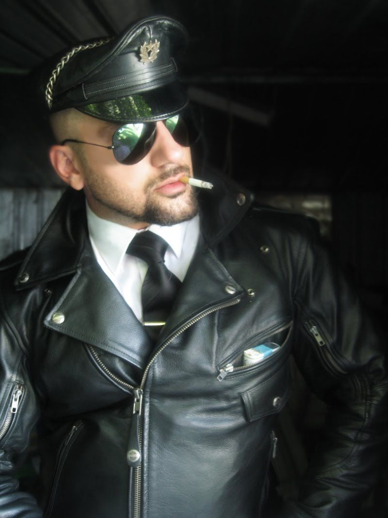 Hot Leather Man Leather Outfit Leather Jacket Men Leather Men [ 1067 x 800 Pixel ]