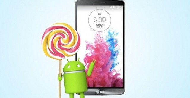 LG G3 to receive Android 5.0 Lollipop OTA update in a matter of days