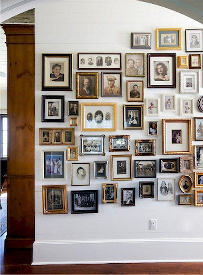 37 Inspiring DIY Family Photos Display Ideas