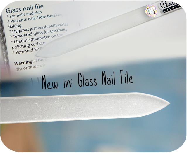 ♥ Beauty Tip: Glass Nail File